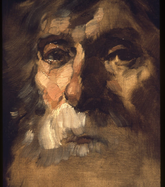 13. Frank Duveneck- Just count the strokes you can see on this face? Count them! Every stroke is measured from the heart of someone trying to abbreviate what he sees into a more economical version, a personal version, one that comes from a mind and heart of a sketcher!