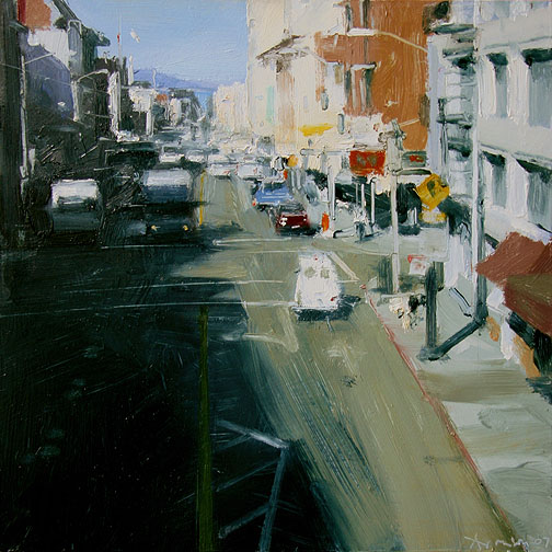 4. Ben Aronson- when I look at this little gem- all i see are sketch strokes, abbreviations, a brilliant way of saying so much with so little. I adore the roughness, so to speak, but it all comes down to each stroke being pulled with the mind of a sketcher!