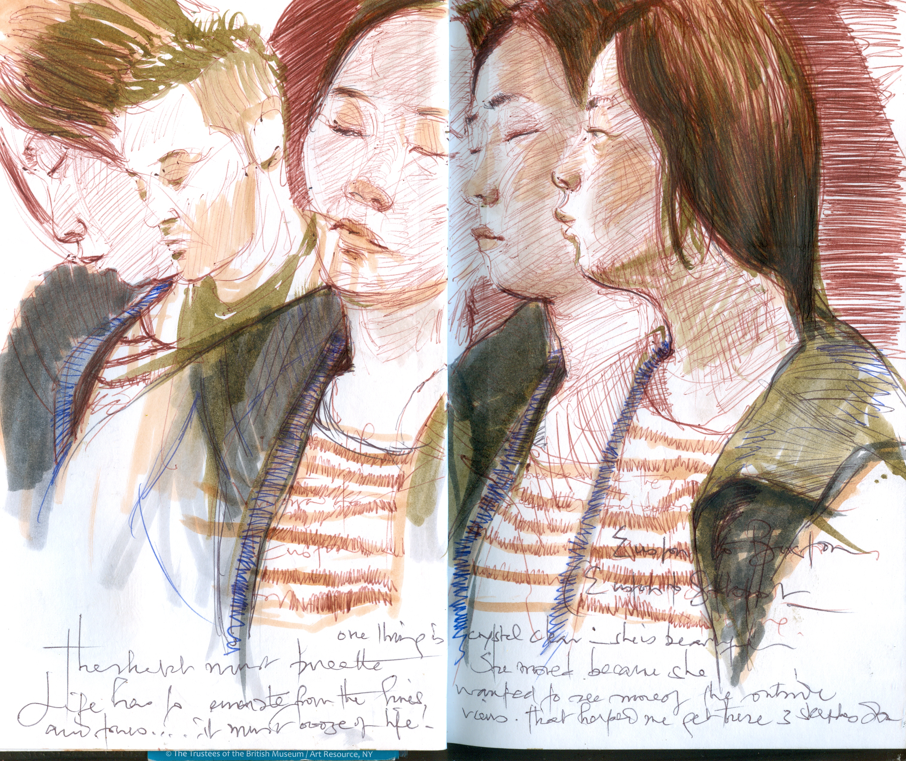 Sketches on Public Transport IX