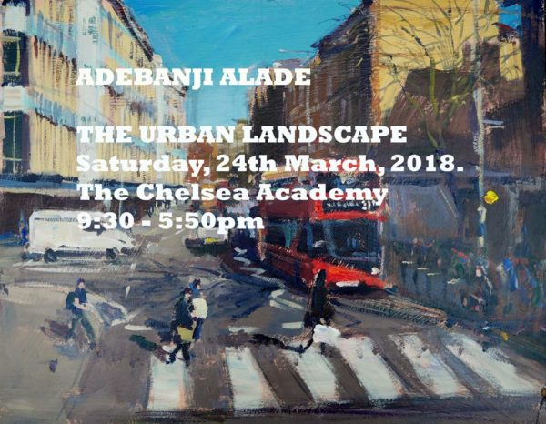 Adebanji Alade's One Day Urban Landscape Workshop in London.